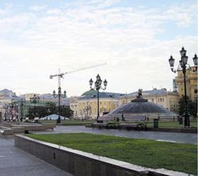 усиление мер на манежной площади в москве. юрий буданов