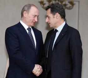путин и саркози встретятся на ле-бурже
