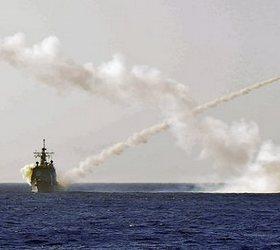 американский крейсер в черном море