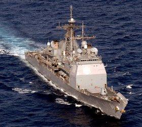 Американский крейсер продолжает нервировать российский МИД