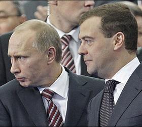 выборы президента- путин или медведев