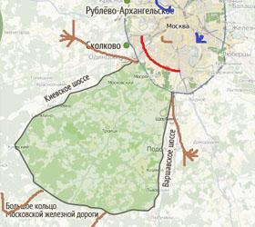 Планя по расширению Москвы пересмотрены- площадь увеличивается еще почти в 2 раза!