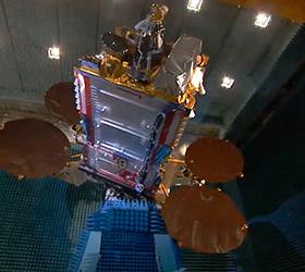 Потерянный спутник вылетел на эллипс