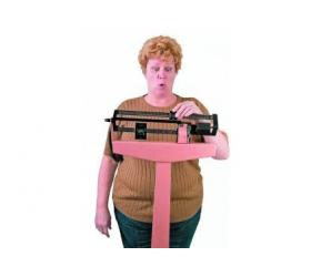 Пять из десяти мужчин готовы уйти от набравшей вес супруги