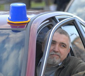 Нападение на активиста синих ведерок