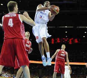 Поражение в Чемпионате Европы по баскетболу