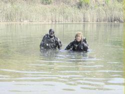 Озеро с жидким стеклом на Украине