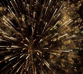 Все события дня города в Москве и праздничный фейерверк на день города Москва 2011