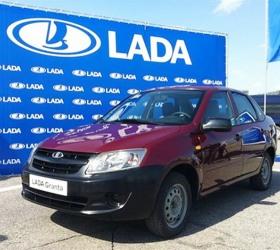 Lada Granta пошла в производство
