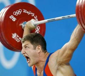 Успех Российских штангистов на чемпионате мира по тяжёлой атлетике.