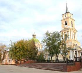 В Перми произошло возгорание в куполе Спасо-Преображенского собора.