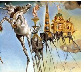 Завершает свою работу выставка Сальвадора Дали в музее имени А.С Пушкина.