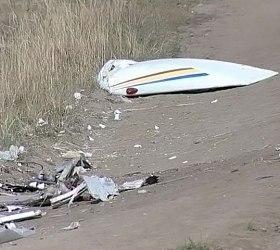 Крушение самолета на юге Польши.