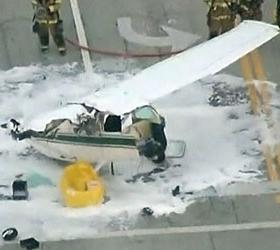 Американец разбился на собранном самим самолете