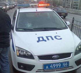В Ижевске в аварию попал рейсовый автобус.