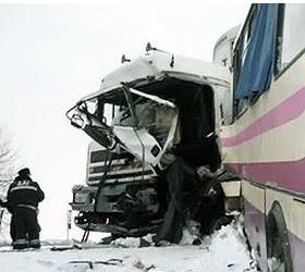 Крупное ДТП произошло в Костромской области.