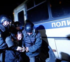 Митинги на улицах Москвы. Более 300 задержанных