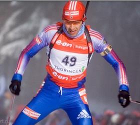 Первая медаль сезона Кубка по биатлону у России