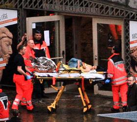 Шокирующие  подробности вооружённого нападения в Бельгии.