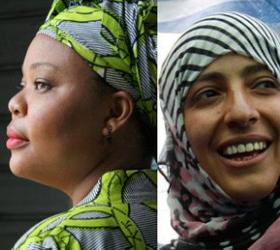 В этом году Нобелевскую премию мира получили женщины