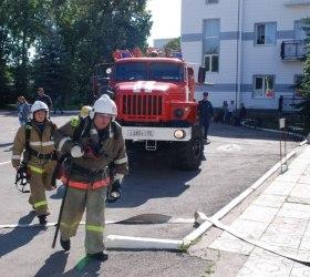 Пожар в Уфимском доме для престарелых