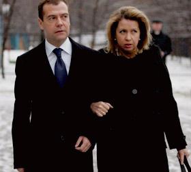 Дмитрий Медведев побывал на свадьбе Ирины Чащиной