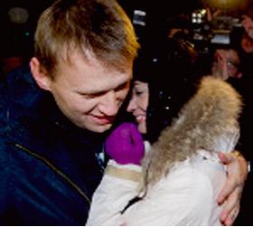 Оппозиционеры Навальный и Яшин выпущены на свободу.