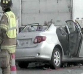 В Новом Орлеане столкнулись 40 машин