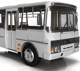 В Брянске перевернулся автобус с пассажирами