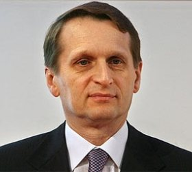 Нарышкин выдвинут на пост спикера Госдумы