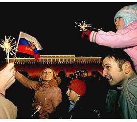 В Москве пройдут новогодние и рождественские праздники
