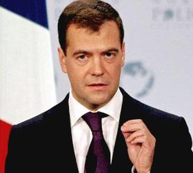 Дмитрий Медведев: 2012 год будет удачным для России