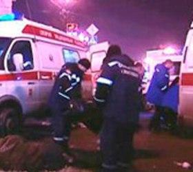 В Магадане водитель сбил шесть человек