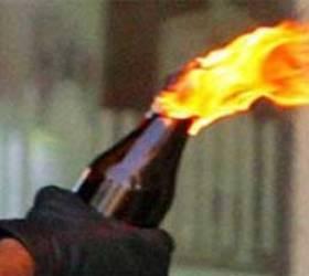 В Москве в полицейский участок бросили бутылку с «коктейлем Молотова»