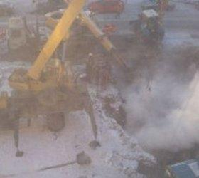 12 тысяч жителей Колпино остались без тепла в 25-грудусный мороз