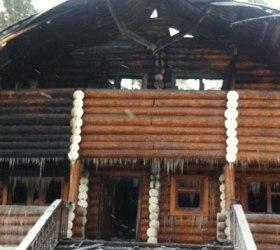 Пожар в Монастыре урочища Ганина Яма