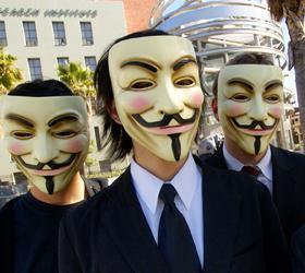 Хакеры из Anonymous угрожают «Единой России» компроматом