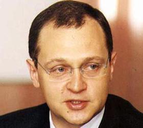 В автомобиль Сергея Кириенко врезались «Жигули»