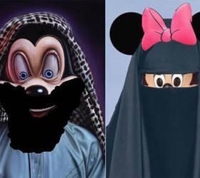 В Египте суд отказался рассматривать иск на бородатого Микки-Мауса