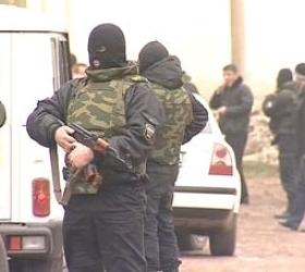 На чеченской границе были блокированы боевики.