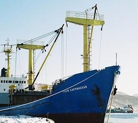 Российский корабль затонул у берегов Японии.