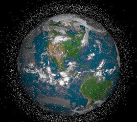 Швейцария уберёт космический мусор с земной орбиты