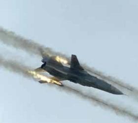 В Курганской области потерпел крушение Су-24.