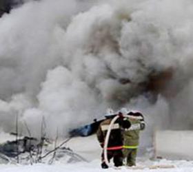 В Кызыле подсчитывают ущерб нанесённый пожаром.