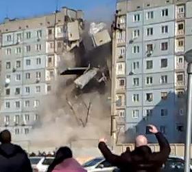 Взрыв дома в Астрахани: установлены личности пяти погибших