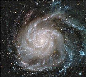 Астрономы выяснили истинный цвет нашей галактики