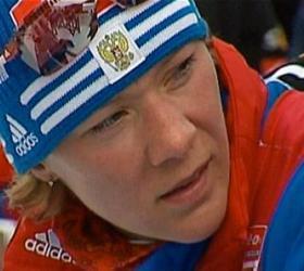 Ольга Зайцева завоевала бронзу в гонке преследовании