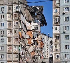 Причиной обрушения жилого дома в Астрахани могло стать самоубийство