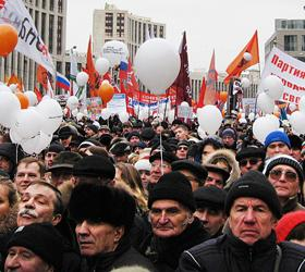 Россияне не боятся «оранжевой» революции