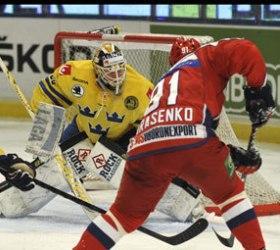 Россияне уступили шведам в рамках Евротура